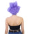Super Villain Lackey Short Purple Straight Wig - Halloween Wigs | HPO
