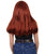 Women's Long Poison Ivy Wig Blow Out with Bangs - Halloween Wigs | HPO