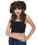 Women's Long Half Up Pigtail Wig