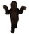 Unisex Warrior Fighter Brown Costume