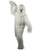 Unisex Warrior Fighter Pure white Costume