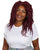 Long Burgundy Dreadlock Wig