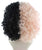 Women's Two-Tone Dolly Shirley Temple Ringlets with Yellow Petal Crown - Halloween Wigs | HPO
