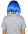 Splatoon Blue Inkling Girl Wig and Ears with Mask Set | Blue Video Game Wigs | HPO