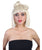 Women's Blonde Bob with Bangs and Bow Bun Wig - Adult Fashion Wigs | HPO