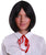 Jupiter Women's Anime Straight Short Length Bob With Bangs - Adult Cosplay Wigs | KOSMOS