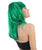 Dolly Pigtail Green Wig Side View