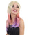 Sleek Pastel Ombre Mullet - Adult Fashion Wigs | HPO