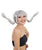 Multicolor Adjustable Pippi Pigtails with Bangs - Halloween Wigs | HPO