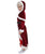 Women's Mrs. Claus Dress with Faux Fur Trim and Belt - Adult Halloween Wigs | HPO