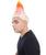 Troll Wig Orange and White