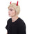 Men's Razzle Dazzle Devil Trump Wig with Horns - Adult Halloween Wigs | HPO