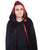 Reversible Velvety Hooded Cape Costume