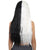 Women's Extra Long Two Tone Center Part Wig with Natural Texture - Adult Halloween Wigs | HPO