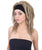 Women's 90's Rave Hippy Blonde Dreadlocks with Headband - Adult Halloween Wig | HPO