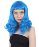 Long Neon Vintage 1940's Shoulder Length Waves - Halloween Wig | HPO