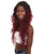 "Nunique Women's 33"" Lace Front Heat Resistant Natural Model Wig - Extra Long Length Curly Brunette Hair - Easy to Wear and Simple to Maintain"