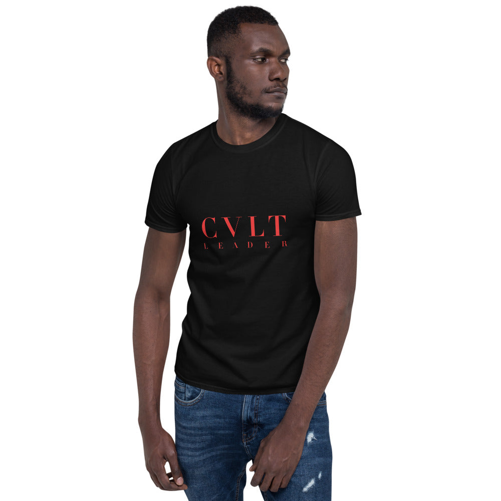 CVLT LEADER RED RUM LOGO TEE