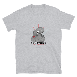 Gluttony Seven Deadly Sins Shirt