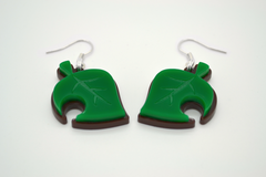 Animal Crossing New Leaf Necklace - VideoGame Jewelry - Laser Cut Acrylic