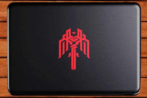 Dragon Age Crest of Kirkwall Vinyl Laptop Decal - Champion's Mark