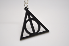 Deathly Hallows Earrings - Laser Cut Acrylic Harry Potter Jewelry