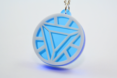 Iron Man Arc Reactor Friendship Necklaces - Laser Cut Acrylic - SALE PRICE