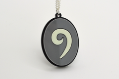 World of Warcraft Hearthstone Necklace - Glow in the Dark Laser Cut Acrylic