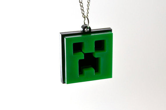 Minecraft Creeper Necklace - Sale Price