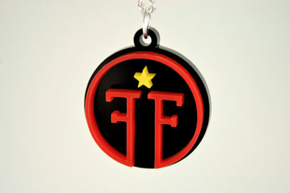Fringe Division Logo Necklace Small - Laser Cut Acrylic