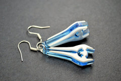 Halo Energy Sword Earrings - Laser Cut Acrylic