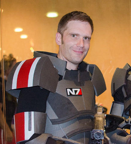 Custom Mass Effect N7 Badge - Extra Large - Laser Cut Acrylic