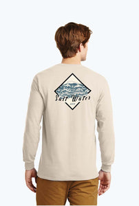 Men's Salt Water Diamond Long Sleeve