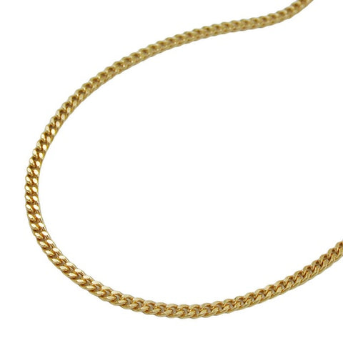 Kette 1,3mm Panzerkette 9Kt GOLD
