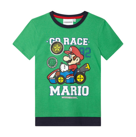 Super Mario Shirt grün