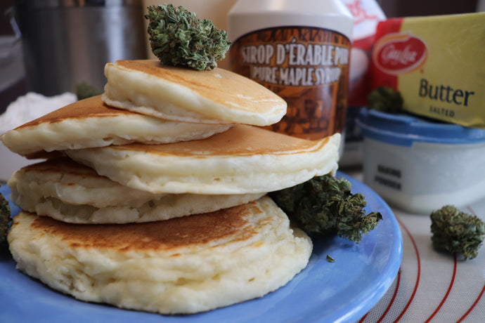 High Stacked Pancakes