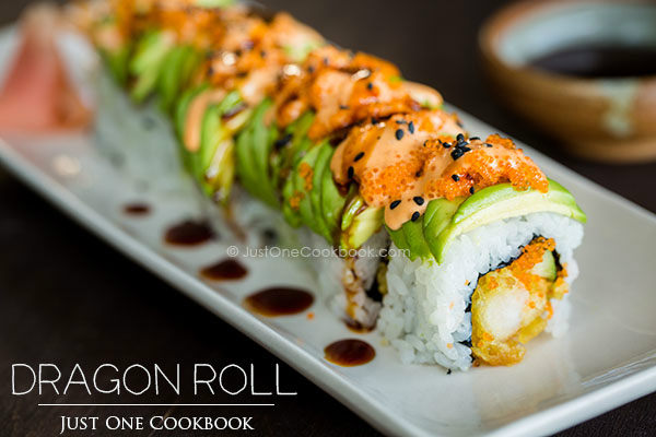 Dragon Roll: The Dragon That Comes to Life at the Table