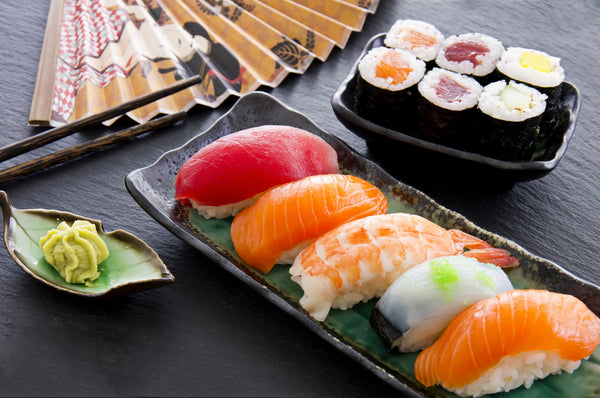 Sushi and sashimi: tantalizing Japanese dishes
