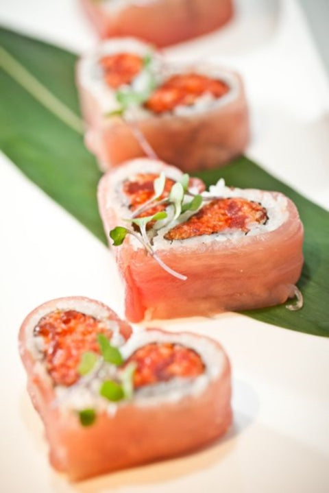 "nothing says ""i love you"" like heart-shaped sushi this valentine's, Ideas"