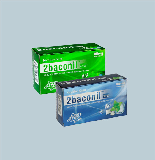What is 2baconil<sup>®</sup> nicotine gum?