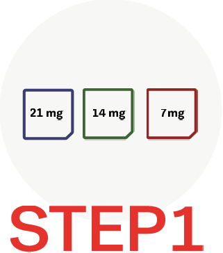 steps to use 2baconil nicotine patch