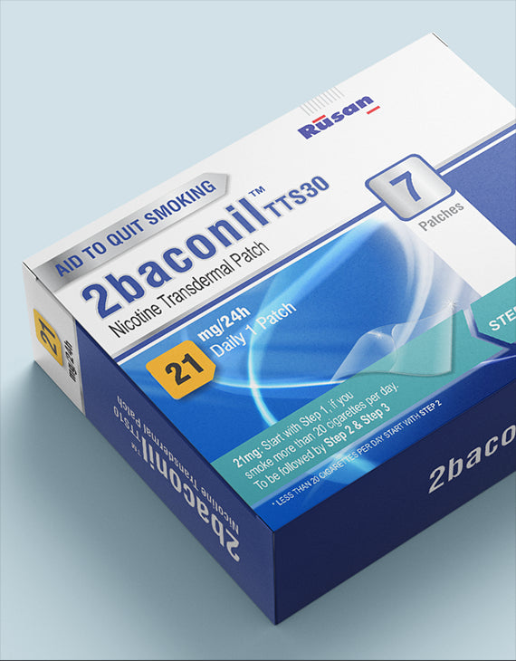 2baconil<sup>®</sup>  21 mg 1 pack