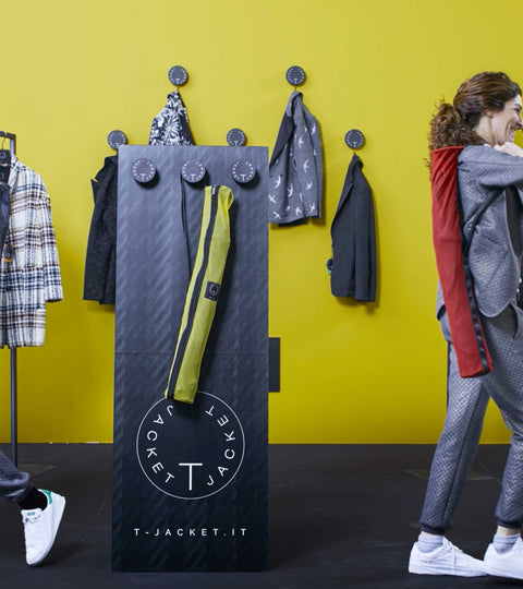 T-JACKET AW17.18: THE PERFECT SET-UP!