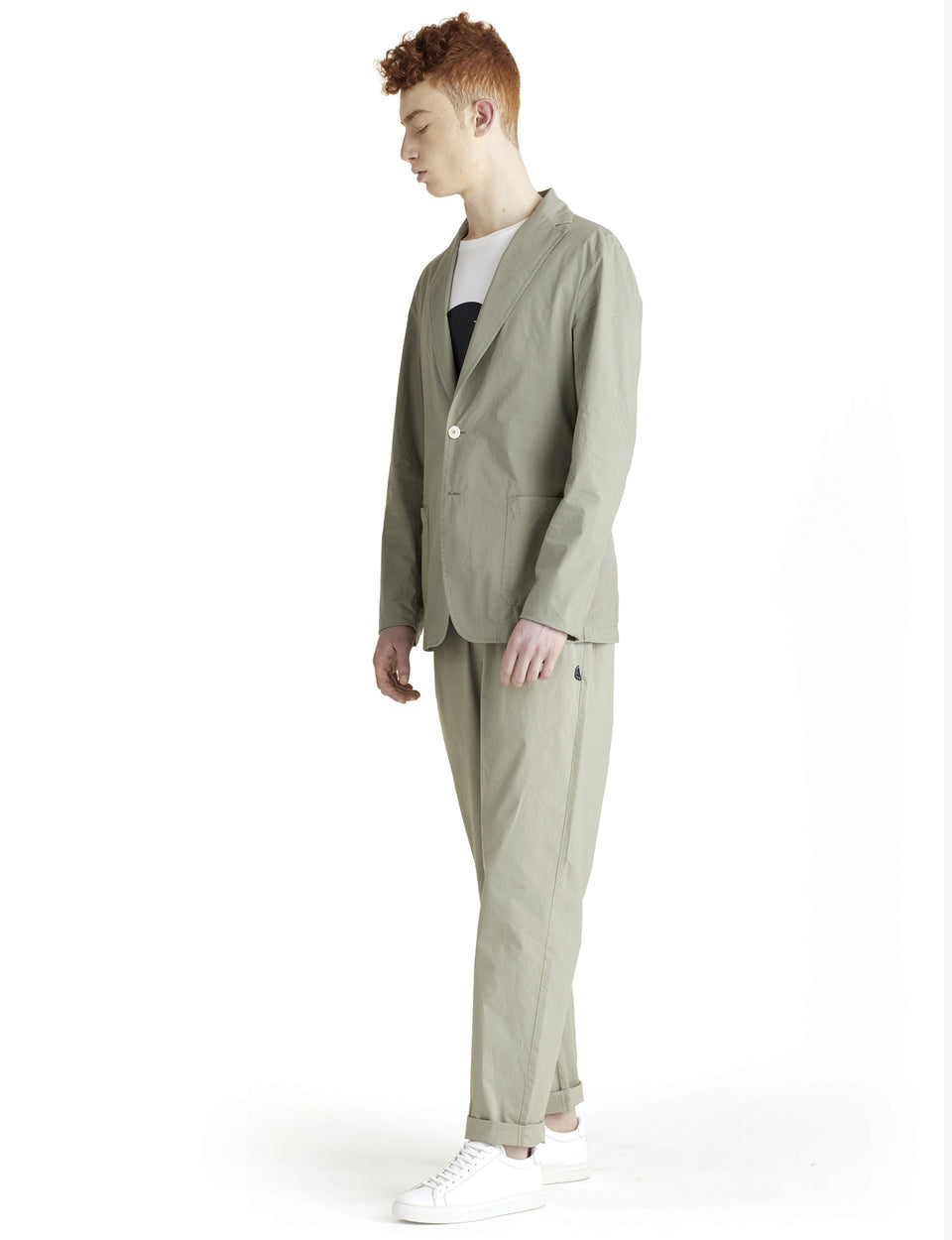 PANTALONI T-EARTH VERDI - T-Jacket