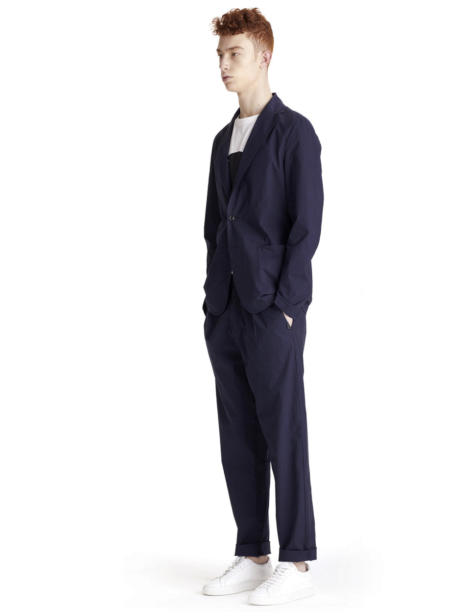 PANTALONI T-EARTH BLU - T-Jacket