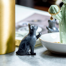 Load image into Gallery viewer, Brass Cat Incense burner