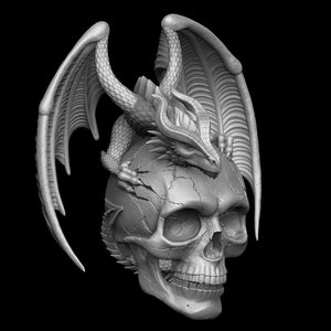 Skull with Dragon - COMING SOON!
