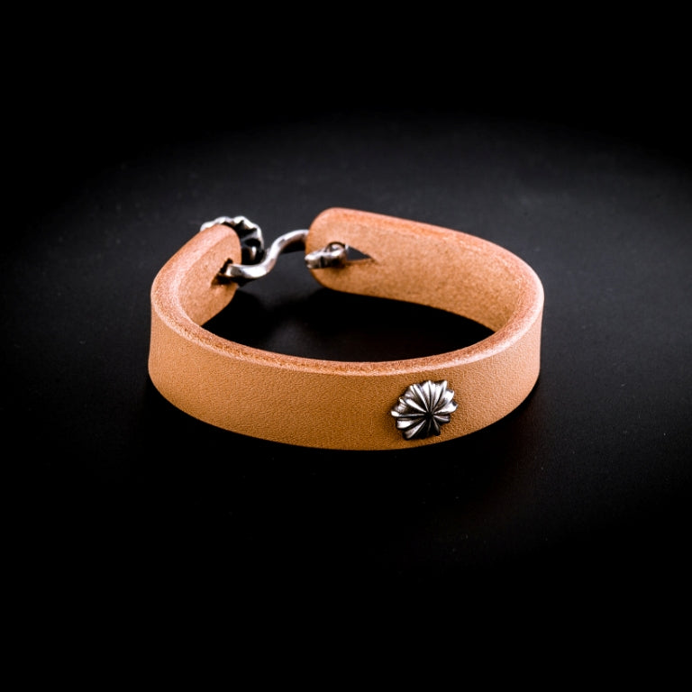 Leather bracelet (Natural)