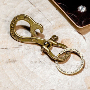 Wrench Hook Keyring
