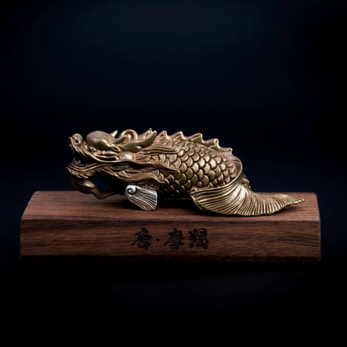 The Dragon Fish Statue